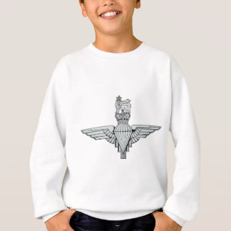 The U.K. Para swipes in Sweatshirt