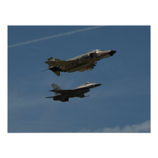 The U.S. Air Force Heritage Flight. Posters