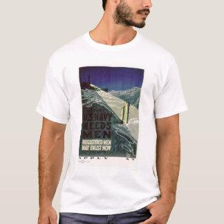 The U.S. Navy Needs Men (US02300) T-Shirt