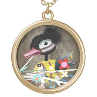The Ugly Duckling fairytale necklace