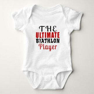THE ULTIMATE BIATHLON FIGHTER BABY BODYSUIT