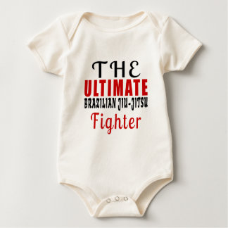 THE ULTIMATE BRAZILIAN JIU-JITSU FIGHTER BABY BODYSUIT