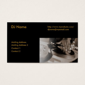 The Ultimate DJ Business Card