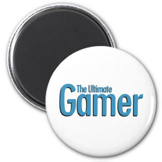 The Ultimate Gamer 6 Cm Round Magnet