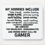 The Ultimate Gamer's Creed (White) Mouse Pad