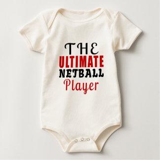 THE ULTIMATE NETBALL FIGHTER BABY BODYSUIT