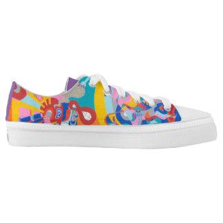The Ultimate Pop Art Shoe! Low Tops