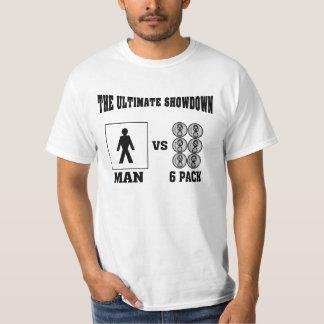The Ultimate Showdown Man VS 6Pack Tshirts