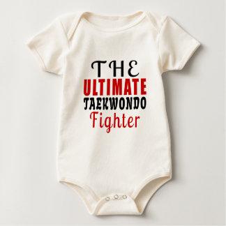 THE ULTIMATE TAEKWONDO FIGHTER BABY BODYSUIT
