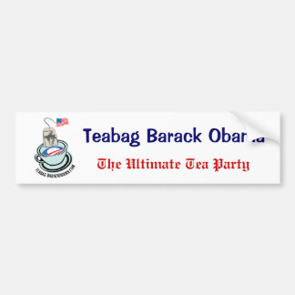 The Ultimate Tea Party Bumper Sticker