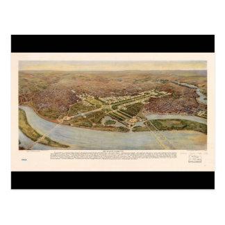 The Ultimate Washington D.C. Map (1915) Postcard