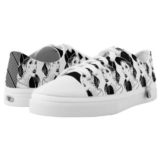 The Unconventional Girl Low Tops