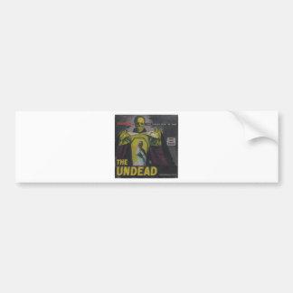 The Undead Zombie Movie Bumper Sticker