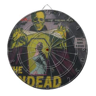 The Undead Zombie Movie Dartboard