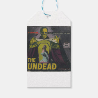 The Undead Zombie Movie Gift Tags