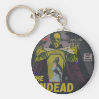 The Undead Zombie Movie Key Ring