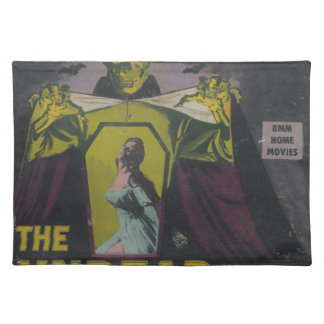 The Undead Zombie Movie Placemat