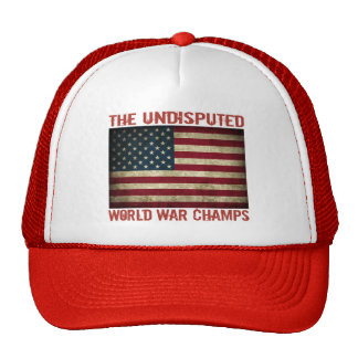 The Undisputed World War Champions distressed Hat