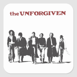 The Unforgiven Square Sticker