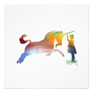 The Unicorn Photo Print