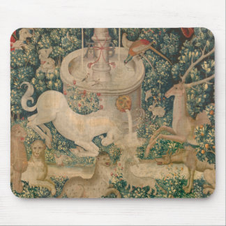 The Unicorn Tapestry Mouse Pad