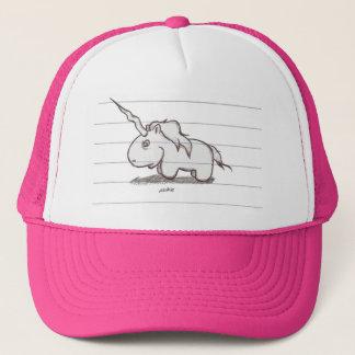 the unicorn trucker hat