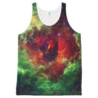 The Unicorns Rose Rosette Nebula All-Over Print Singlet