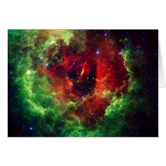 The Unicorns Rose Rosette Nebula Card
