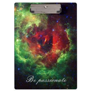 The Unicorns Rose Rosette Nebula Clipboard