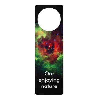 The Unicorns Rose Rosette Nebula Door Hanger