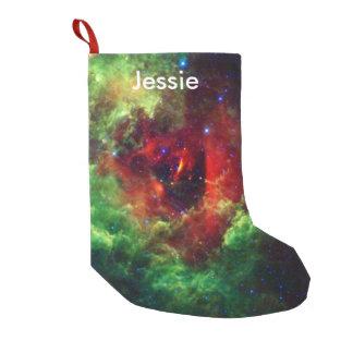 The Unicorns Rose Rosette Nebula Small Christmas Stocking