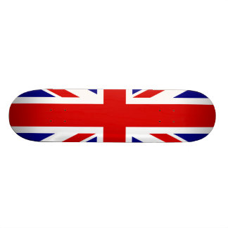 The Union Jack Flag 21.6 Cm Old School Skateboard Deck