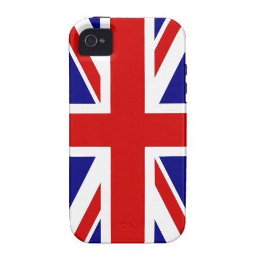 The Union Jack Flag iPhone 4 Case