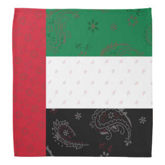 The United Arab Emirates Flag Bandana
