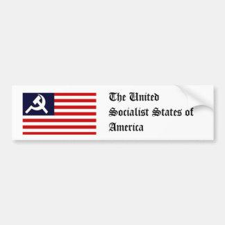 The United Socialist States of America Bumper Sticker