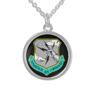 The United States Air Force's 157th Air Refueling Round Pendant Necklace