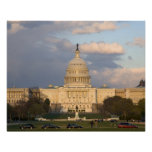 The United States Capitol Building in Poster