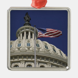 The United States Capitol, Washington, DC Metal Ornament