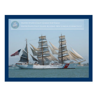 The United States Coast Guard Ship Eagle Postcard