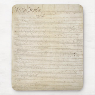 The United States Constitution Mouse Pad