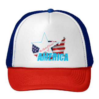 The United States Of America 4th of July Cap