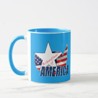 The United States Of America 4th of July Mug