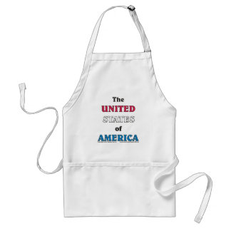 the United States of America Apron