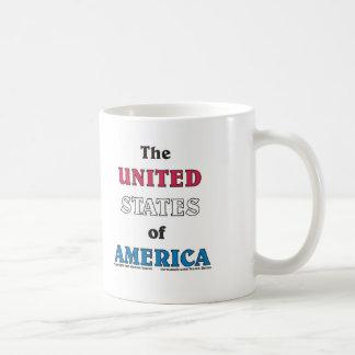 The United States of America Basic White Mug