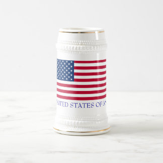 THE UNITED STATES OF AMERICA BEER STEINS