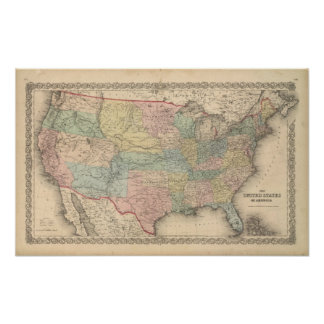 The United States of America Poster