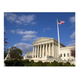 The United States Supreme Court Building in Postcard