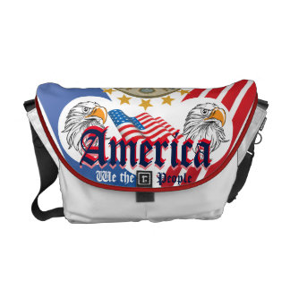 "The United States ""We The People"" Double Eagle Courier Bag"