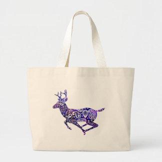The Universe and the Deer Jumbo Tote Bag