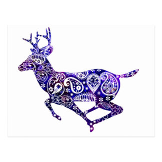 The Universe and the Deer Postcard